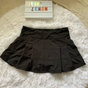 Lululemon pleated tennis skirt with shorts size 4